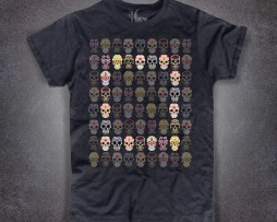 Teschio Messicano T-shirt uomo teschi messicani mexican skull tattoo