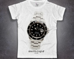Submariner t-shirt uomo con stampa rolex submariner rivisitato