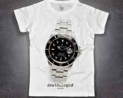 Submariner t-shirt uomo con stampa rolex submariner rivisitato