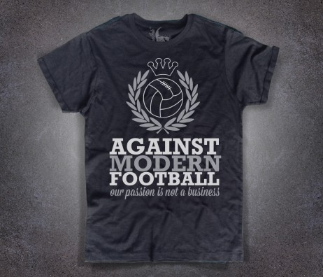 No Calcio Moderno T-shirt uomo no al calcio moderno, against modern football