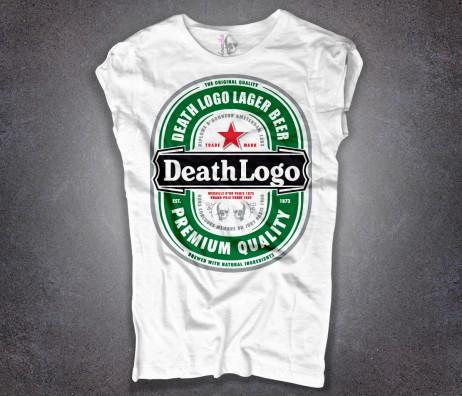 birra t-shirt donna bianca Ama e fa ciò che vuoi Sant'Agostino amore e filosofia
