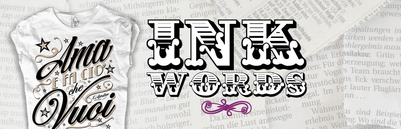 INK WORDS