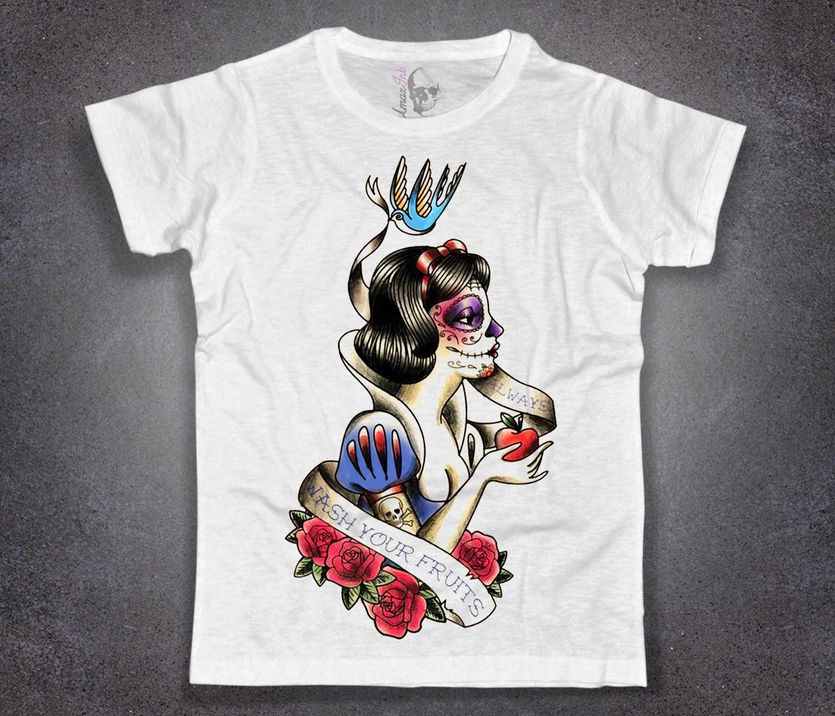 Biancaneve Uomo Shirt Tatuata Amazink T 1Jl5ucTFK3