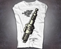 Candela motocicletta T-shirt donna you can customize anything. except this.