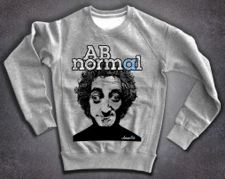 Marty Feldman felpa uomo stampa AB normal