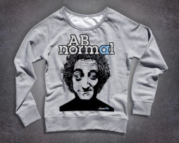 Marty Feldman felpa donna stampa AB normal
