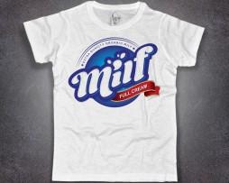 Milf t-shirt uomo bianca Mother I'd like ti fuck