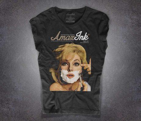 Esquire T-shirt nera donna
