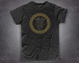 pink floyd t-shirt uomo ispirata alla canzone one of these days