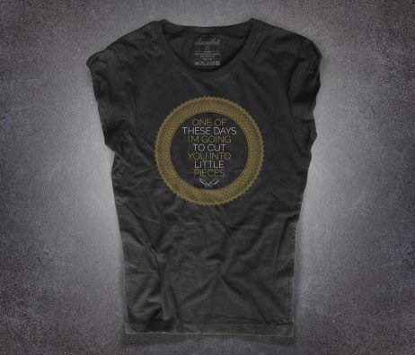pink floyd t-shirt donna ispirata alla canzone one of these days